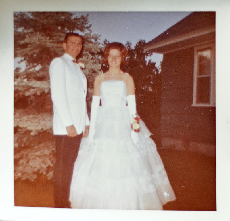 Description of . Bernie and Carolyn Forget attended the 1962 and '63 Fitchburg High proms, as well as St. Bernard's Central Catholic prom in 1963. They were later married in 1965. SENTINEL & ENTERPRISE / Ashley Green