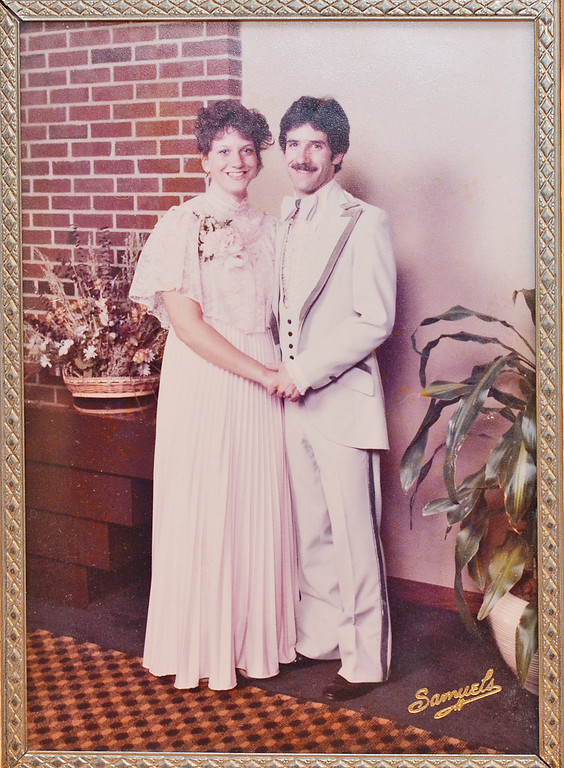 . Rick and Judy Jollimore attended the 1983 Nashoba Tech prom. The Jollimores married in 1987 and reside in Ashby. SENTINEL & ENTERPRISE / Ashley Green